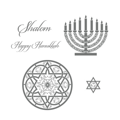 Stampin' Up Jewish Celebrations Stamp Set