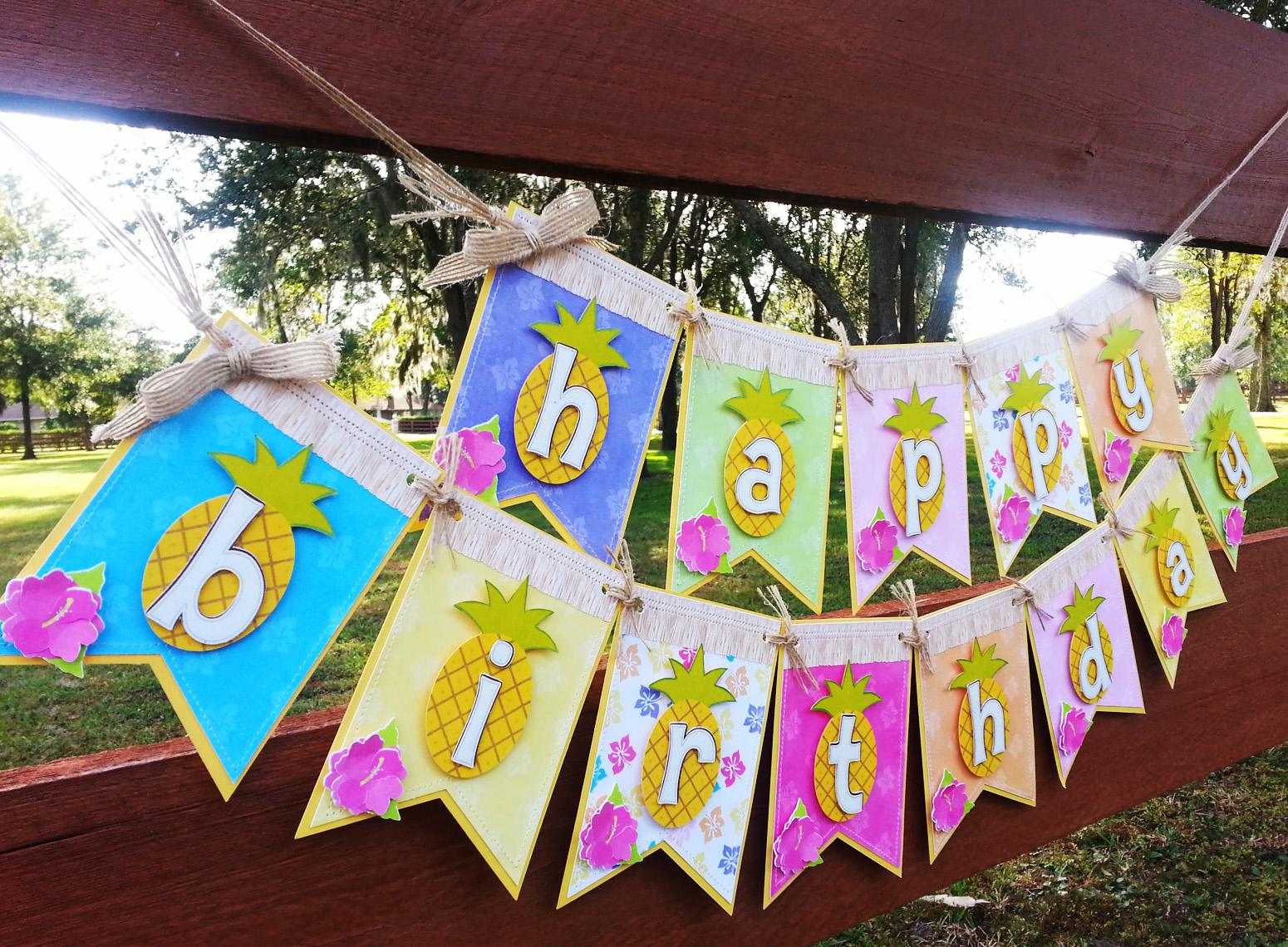 Luau Backyard Party Ideas