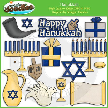 ScrappinDoodles Happy Hanukkah
